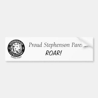Sticker van de Bumper van Stephenson de Elementair Bumpersticker