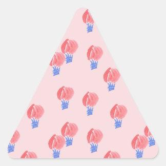 Sticker van de Driehoek van de Ballons van de