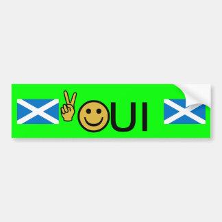 Sticker van de Onafhankelijkheid van Smiley van de