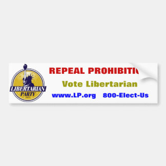 """Sticker van de Partij """"van het Verbod van de herro"""