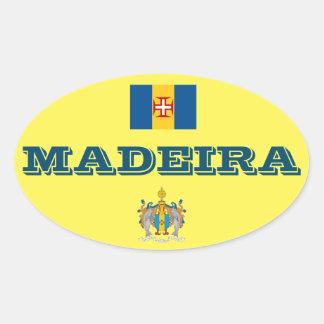 Sticker van de Stijl van madera (Portugal) de