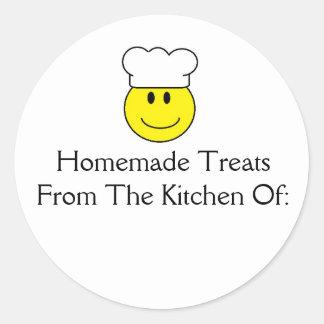 Sticker van de Traktaties van de Chef-kok van het