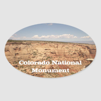 Sticker van het Monument van Colorado de Nationale