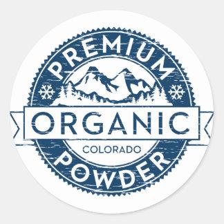 Sticker van het Poeder van Colorado van de premie