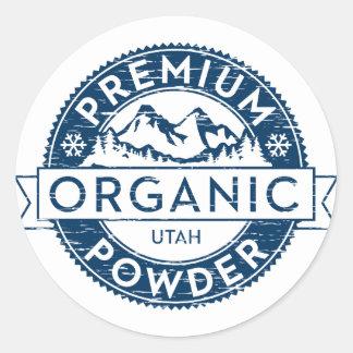 Sticker van het Poeder van Utah van de premie de
