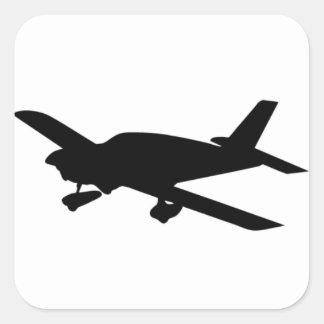Sticker vliegtuig