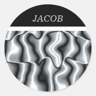 Sticker voor Zilveren Collectie III van het Metaal