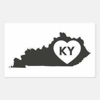 Stickers I de Staat van Kentucky van de Liefde
