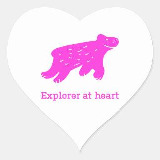 Stickers met ijsbeer