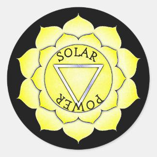 Stickers van Chakra van de Chi van de Macht van de