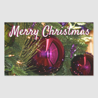 Stickers van de Bollen van de Kerstboom van