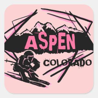 Stickers van de de skiberg van Colorado van de esp