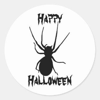 Stickers van de Spin van Halloween de Zwarte