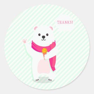 Stickers van het Baby shower van de Munt van de
