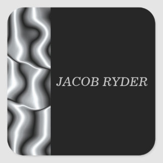 Stickers voor Zilveren collectie II van het Metaal