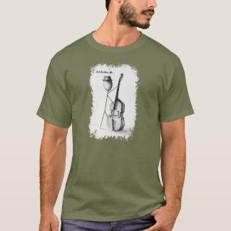 Stickman Bas Mannen T T Shirt