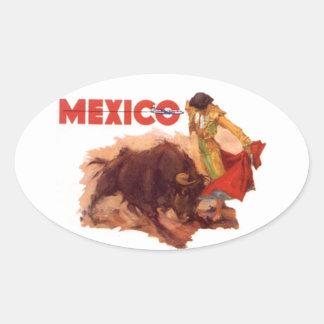 Stierenvechten van de Sticker van de Reis van