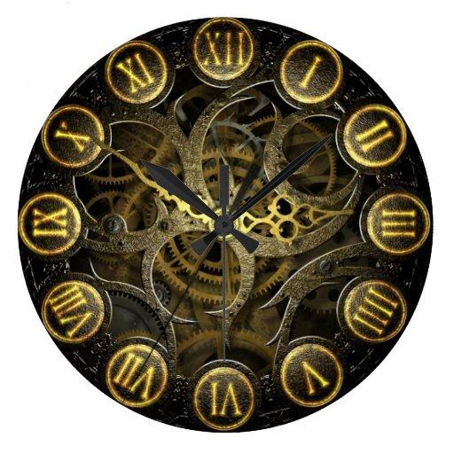 Stijl van het de klok de oude Victoriaans toestel