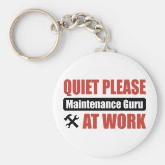 Stil tevreden Onderhoud Guru op het Werk Sleutelhanger