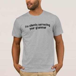 Stil Verbeterend Uw Grammatica T Shirt