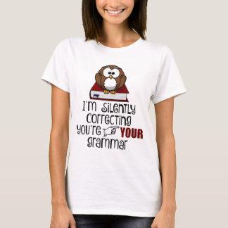 Stil Verbeterend Uw Sarcastische Uil van de T Shirt