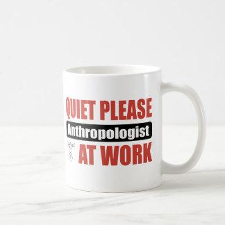 Stille tevreden Antropoloog op het Werk Koffiemok