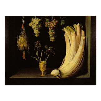 Stilleven, 1628 briefkaart