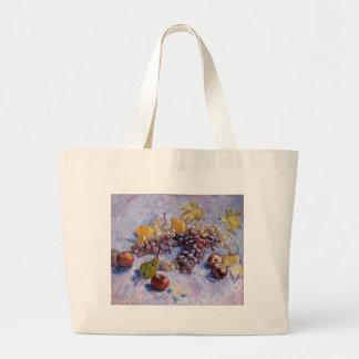 Stilleven: Appelen, Peren, Druiven - Van Gogh Grote Draagtas