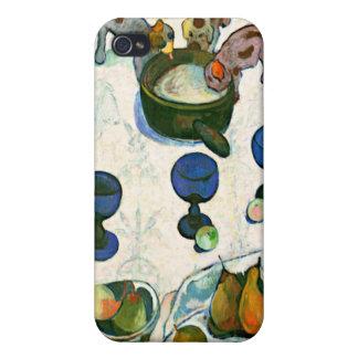 Stilleven met Drie Puppy, Paul Gauguin iPhone 4/4S Hoesje