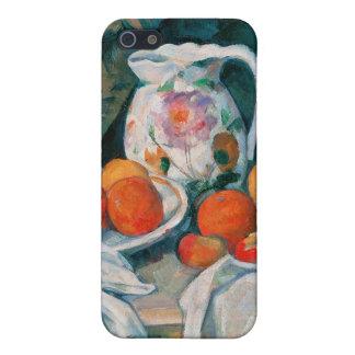 Stilleven met Gordijn, Paul Cézanne iPhone 5 Hoesje