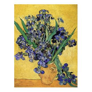 Stilleven met Iris door Vincent van Gogh Briefkaart
