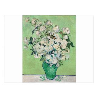 Stilleven: Vaas met Rozen - Vincent van Gogh Briefkaart