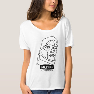 Stilte door overgao t shirt