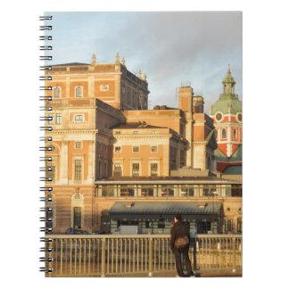 Stockholm, Zweden Notitieboek