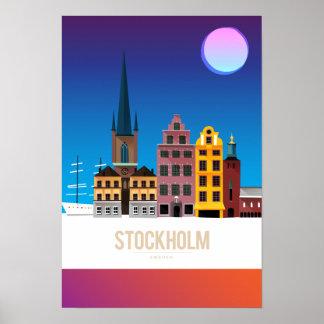 Stockholm, Zweden Poster