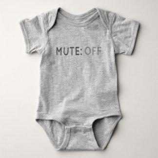 Stodde Knoop van Bodysuit van het Baby