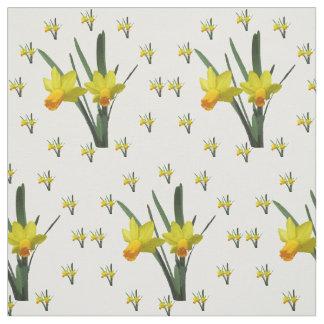 Stof - de Bloesems van de Gele narcis