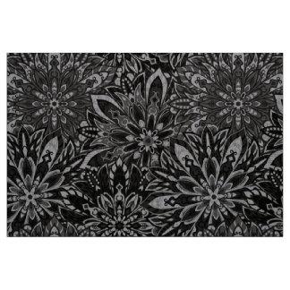Stof met de BloemenDruk van het Patroon Mandala