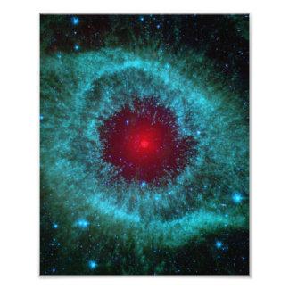 Stoffig Oog van de Nevel NGC 7293 van de Schroef Fotoprints