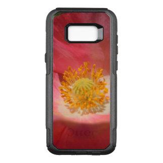 Stoffige Roze Gekleurde Papaver OtterBox Commuter Samsung Galaxy S8+ Hoesje