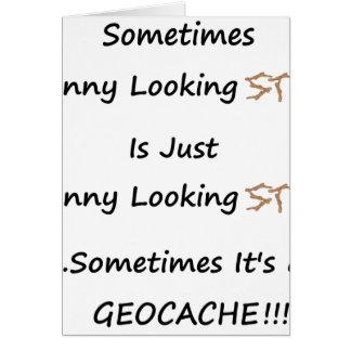 Stok of Geocache Briefkaarten 0