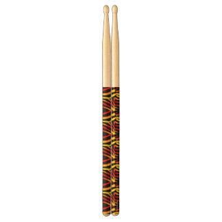 Stokken van de Trommel van het Patroon van de Druk Drumstokkies 0