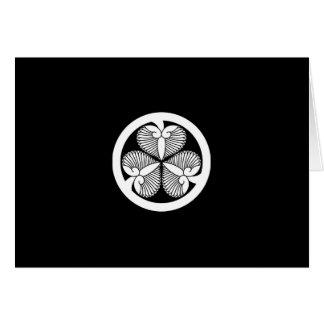 Stokroos 7 van Tokugawa (6de Ienobu) 35 Briefkaarten 0
