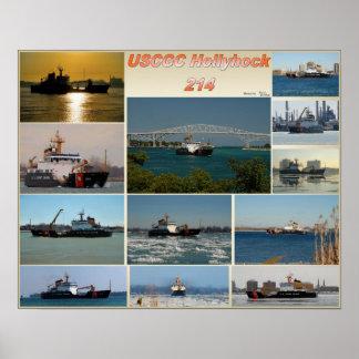 Stokroos wlb-214 van de Snijder USCGC Poster