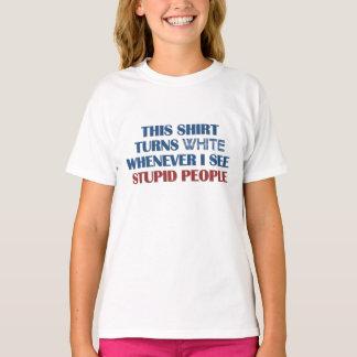 Stom de humoroverhemd van Mensen - kies stijl T Shirt