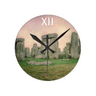 Stonehenge Ronde Klok Medium
