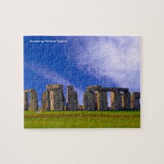 """Stonehenge voor 8 het Raadsel van de"""" x 10"""" Foto Puzzel"""