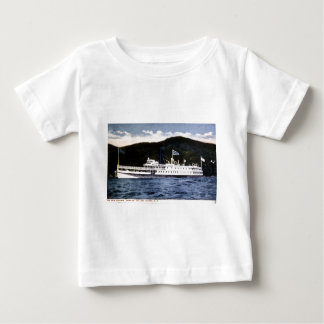 "Stoomboot ""Horicon"" op Meer George, New York Baby T Shirts"