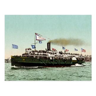 """Stoomboot """"Stad van Erie"""" 1900 Briefkaart"""