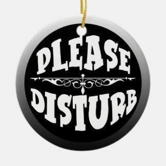 Stoor de geen Hanger van de Deur voor Slaapkamer Rond Keramisch Ornament